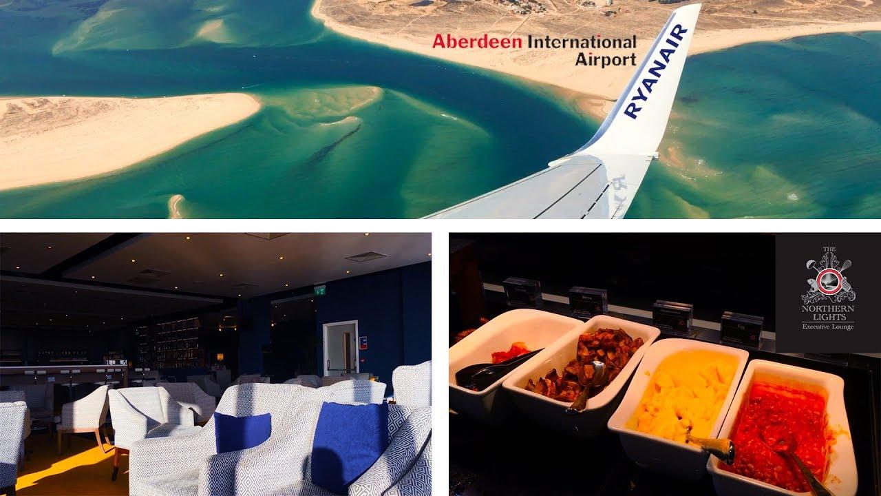Northern Lights Lounge Aberdeen Airport Menu
