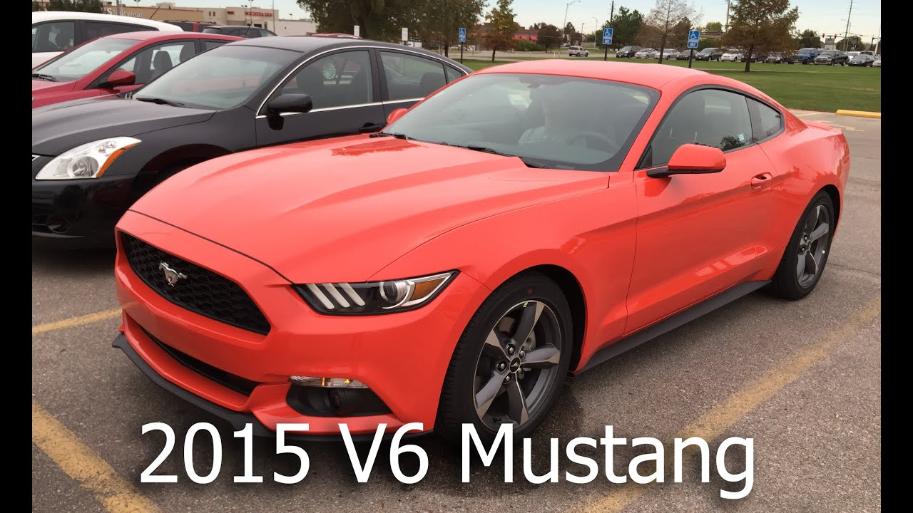 2015 ford mustang v6 0 100 mph youtube. Black Bedroom Furniture Sets. Home Design Ideas