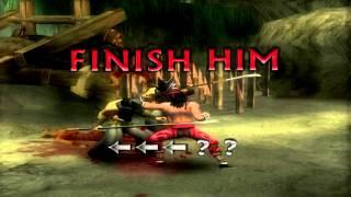 Mortal kombat shaolin monks Fatality,Brutality,Multality