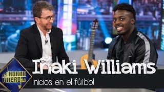 Iñaki Williams y sus inicios en el fútbol:
