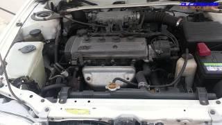 Toyota 5E-FE Engine View