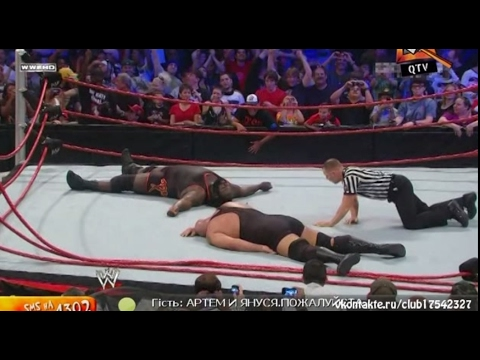 WWE Vengeance 2011 Big Show vs Mark Henry (QTV) part 6