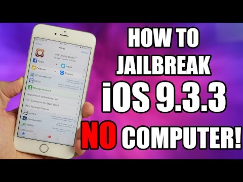 How to Jailbreak iOS 9.3.3 - NO COMPUTER!! PANGU Jailbreak!