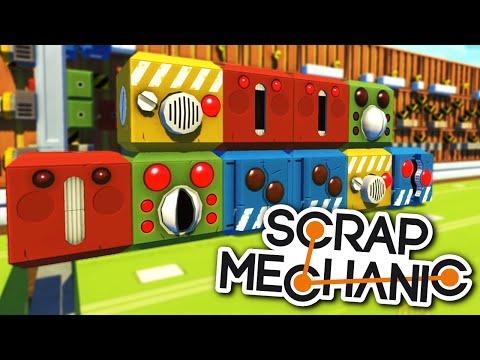 Scrap Mechanic DEVBLOG 7 - SURVIVAL MODE, WELDING TOOL, MOTORBIKE SEATS and MUSIC BLOCKS