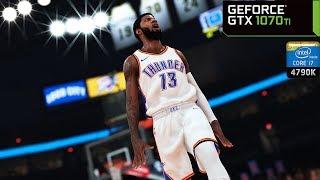 NBA 2K19 - GTX 1070 Ti & i7 4790K   PC Max Settings 1440p