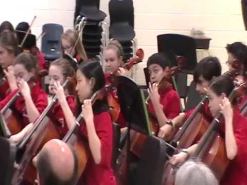 North Gwinnett Middle School Orchestra 7B 2016 Winter Concert
