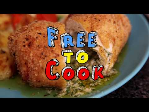 How To Cook A Chicken Kiev - Crispy Chicken Breast Stuffed With Garlic Butter Sauce