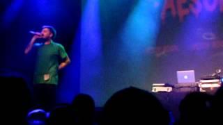 "Aesop Rock ""Big Bang"" at The Fillmore in S.F."