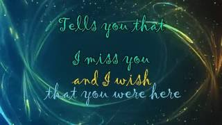 Wish That You Were Here [Lyrics] HD - Florence & The Machine
