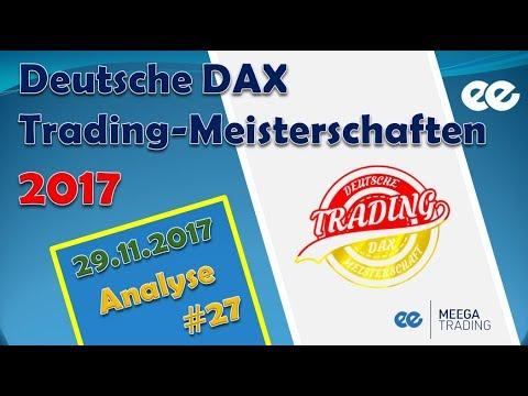 DAX Analyse 29.11.2017 - Marcus Klebe - Deutsche Dax Trading Meisterschaften