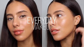 EVERYDAY MAKEUP LOOK | DEWY & SKIN-LIKE | Jessicvpimentel
