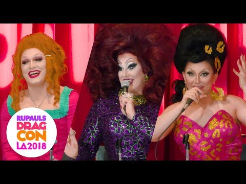 Peaches Christ Panel with Jinkx Monsoon, BenDeLaCreme, and more! at RuPaul's DragCon LA 2018