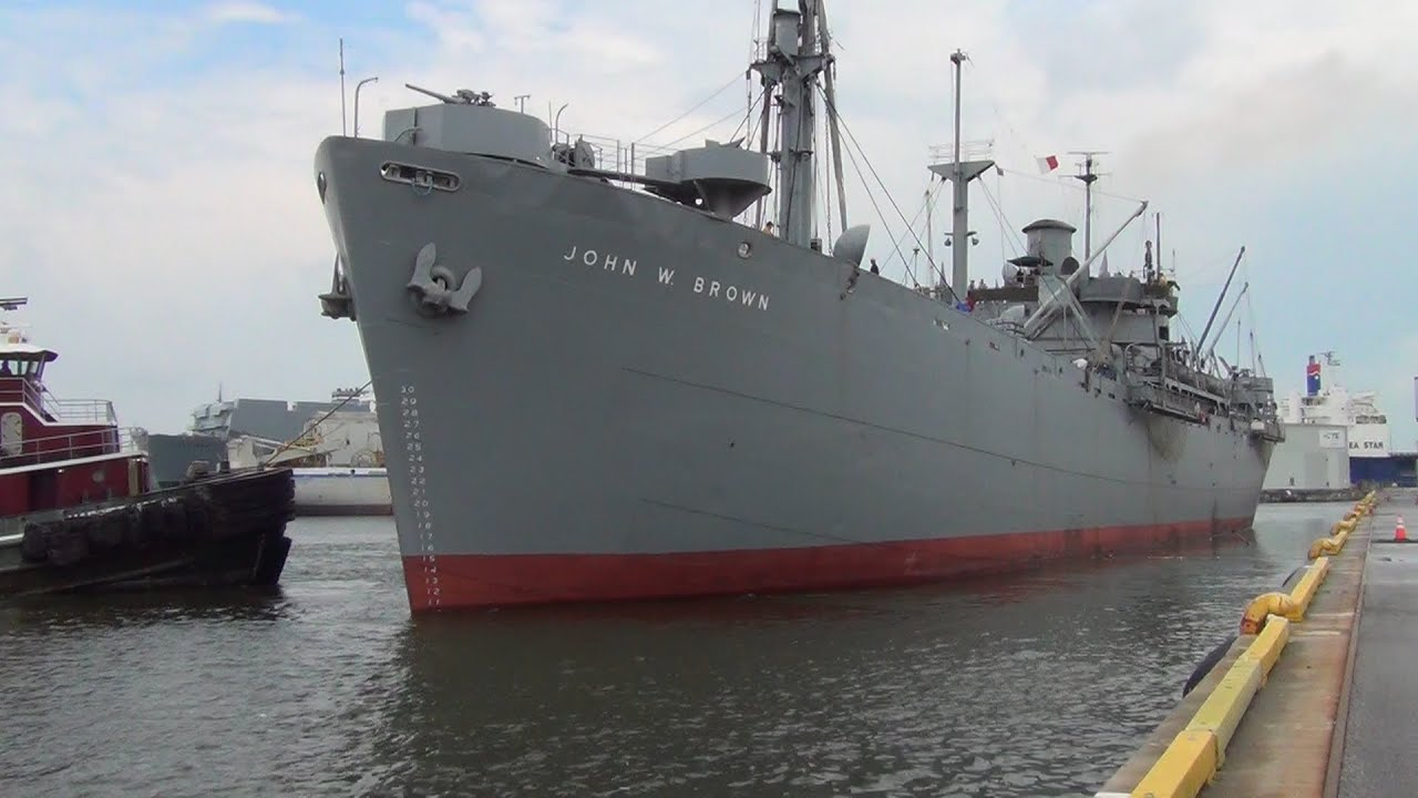SS John W Brown WWII Liberty Ship Baltimore Cruise Terminal - Cruise ships from baltimore md