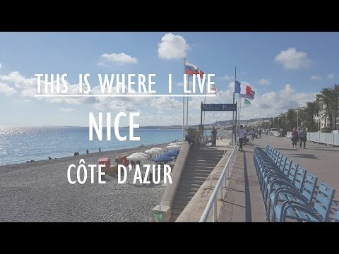 This is where I live. Nice, Côte d'Azur