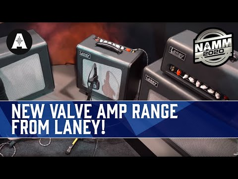 Rabea & Danish Pete Check Out The Laney Amplification Booth! - NAMM 2020