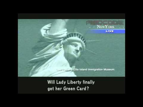Metal Gear Solid 2 - Unused footage of the Lady Liberty