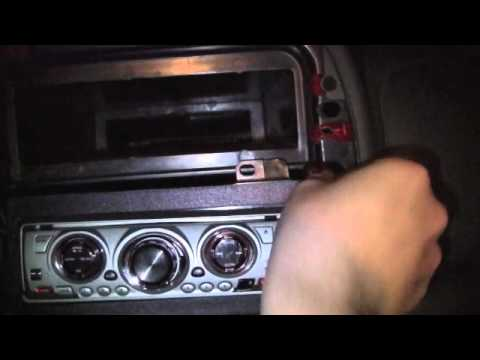 How to replace or install the Stereo Radio Head Unit in a Dodge Dakota Part 1