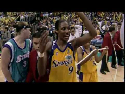 Lisa Leslie Elected to the Hall of Fame!
