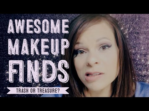 Awesome Makeup Finds at Discount Stores TRASH or TREASURE?