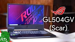 When ASUS ROG Strix SCAR II (GL504GV) Gaming Laptop Meets ATC 🔥