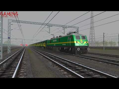 MEGA OFFLINK HOWRAH YUVA SUPERFAST EXPRESS IN MSTS OPEN RAILS HD