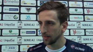 18-12-2016: #A2MVolley - Lorenzo Bonetti post New Mater - Santa Croce