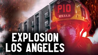 Pompiers Américains - Intervention À Los Angeles : 11 Pompiers Blessés