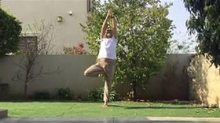 יוגה עם תיכון מיתר  2 -  יציבות