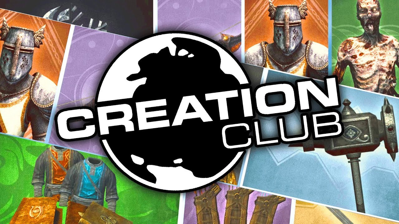 Skyrim SE - EVERYTHING Available in Creation Club - PC, XB1, and PS4 Launch!