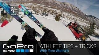 Ski Helmet - GoPro Athlete Tips and Tricks: Helmet Mounting and GoPro App with Tom Wallisch (Ep 4)
