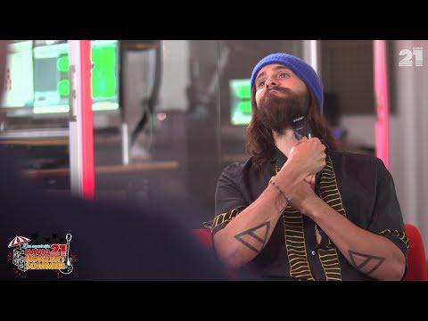 Jared Leto im   RADIO 21