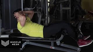 MUSCLEMESH Egzersizleri Half Crunch - Karın/Mide