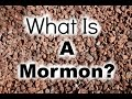 What Is A Mormon? | Mormon Girl