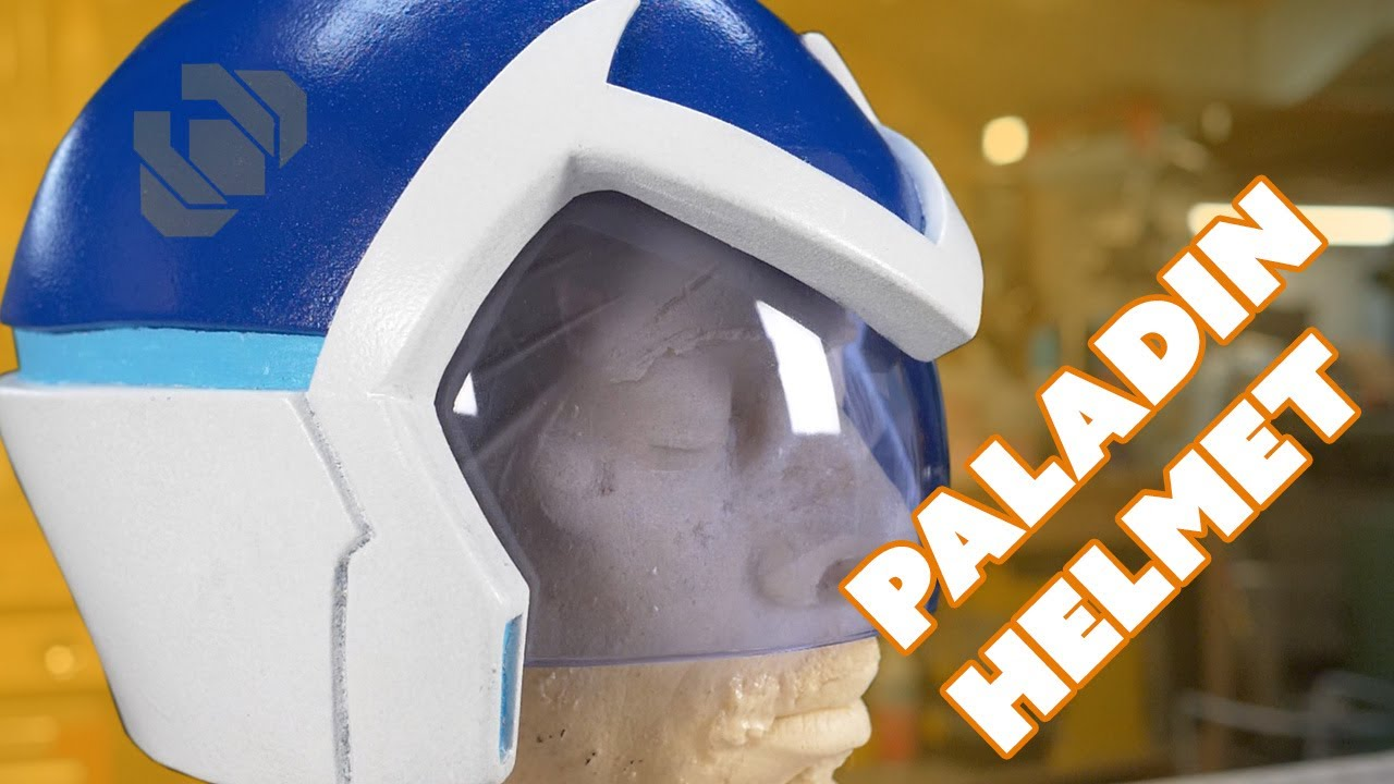 Voltron Paladin Helmet Paint And Custom Visor Tutorial