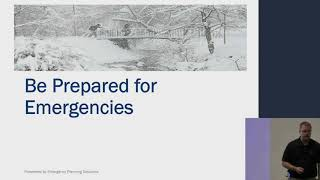 Video - Emergency Preparedness Training Video