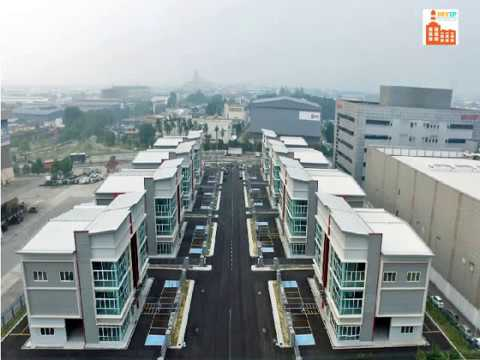 SEMI DETACHED FACTORY FOR SALE AND RENT IN  SELANGOR MALAYSIA 9.6KSFT