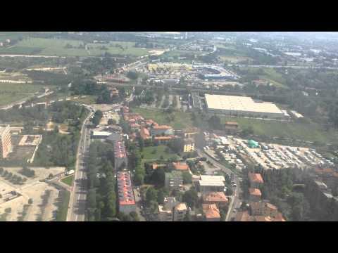 Landing @ Bologna Guglielmo Marconi Airport