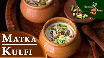 Matka Kulfi in 2 mins   Malai Kulfi Ice cream Recipe   No Egg No Icecream maker   Indian Street food