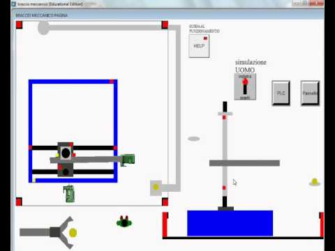 Smart Project Omron 2013, Braccio Meccanico