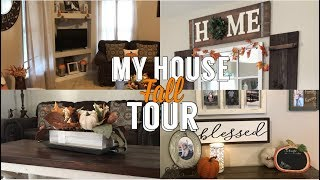 My Farmhouse Fall Tour 2018 | Fall House Tour | Simple Fall Decor | Daisy Hearts