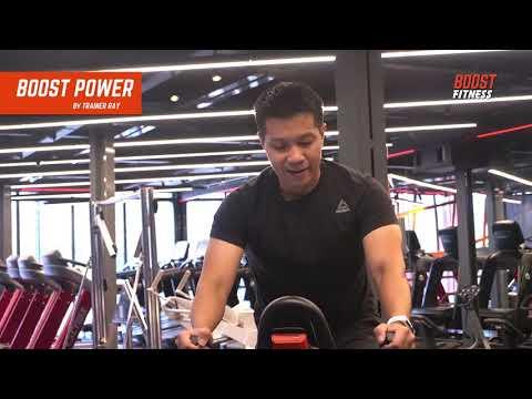 """""""ปั่นจักรยาน"""" สองล้อ สลายไขมันกับคลาส BOOST POWER โดยเทรนเนอร์เรย์ จาก Boost Fitness"""