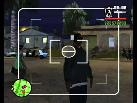 gta sa how to make a ghost ped