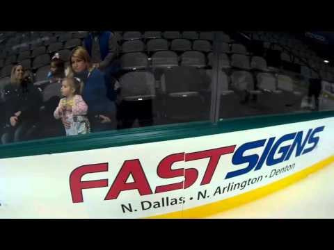 Rink of Dreams - American Airlines Center 1/10/16