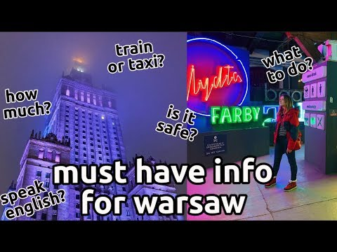 ultimate warsaw guide | practical tips you must know before visiting poland's capital