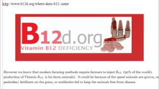 Unnatural Vegan Vitamin B12