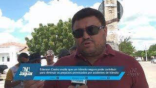 Ederson Castro avalia que um trânsito seguro pode contribuir para diminuir os prejuízos provocados