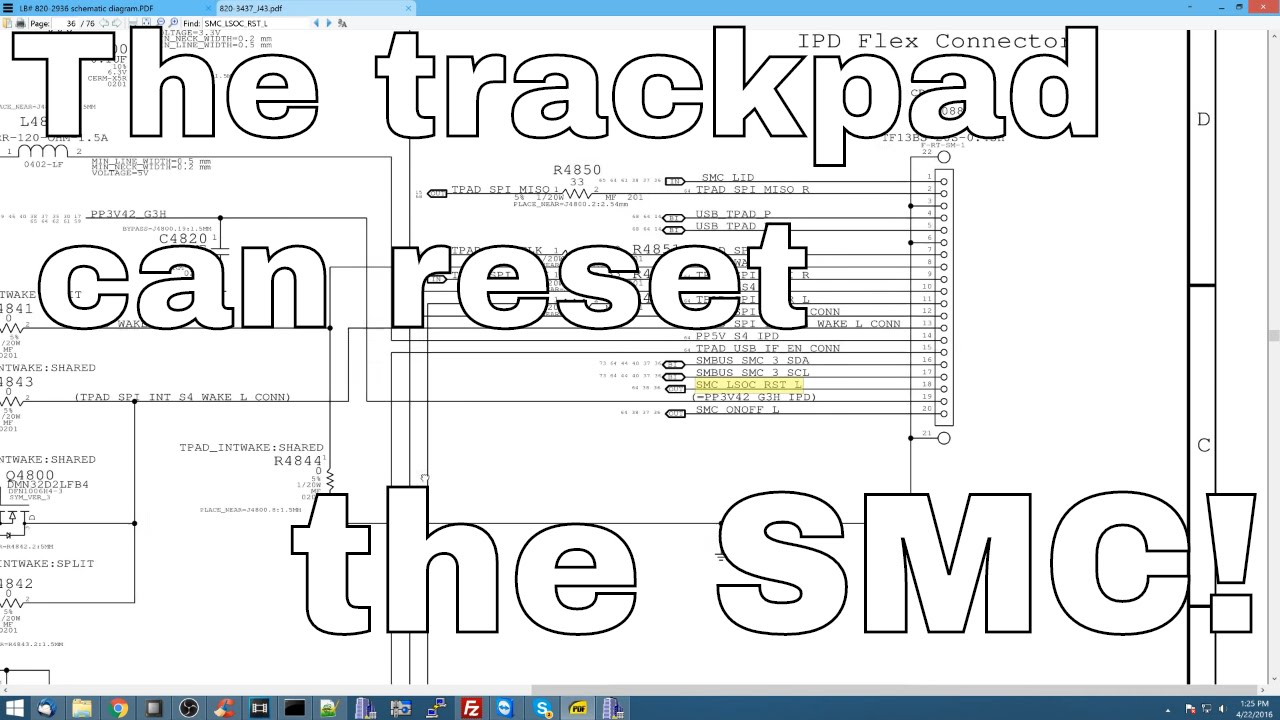 How The Trackpad Can Kill A Fully Functional Macbook Air Youtube Ipad 4 Circuit Diagram