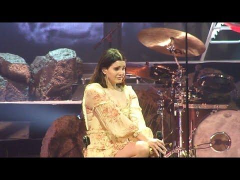Lana Del Rey Cries, Talks About Stalker (2/5/18)