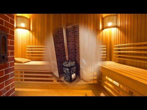 Видео Внутреняя отделка русской бани. Строительство