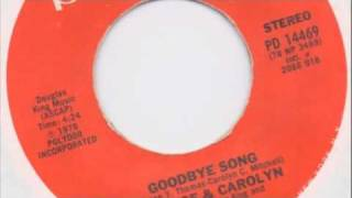 Download Vaneese & Carolyn - Goodbye Song - Polydor 1978 MP3 song and Music Video